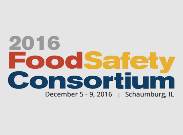 Food Safety Consortium – December 2016
