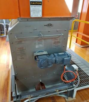 Magnattack Drum Magnet reinstalled after repairs