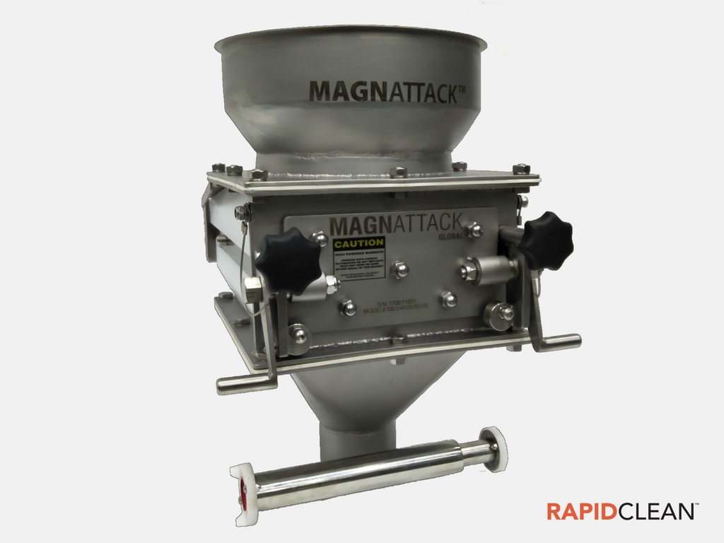 Image of the Magnattack Rapidclean Grate Magnet