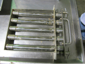 Grate Magnet Separator with Sleeves