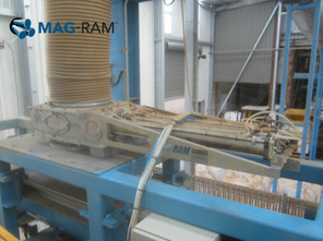 MAGRAM Automatic Cleaning Magnet Separator installed in meat meal / petfood - Magnattack Global