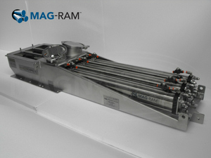 Automatic Cleaning Magnet Separator - Magnattack Global MAGRAM