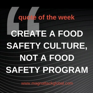 QOTW - Food Safety Culture