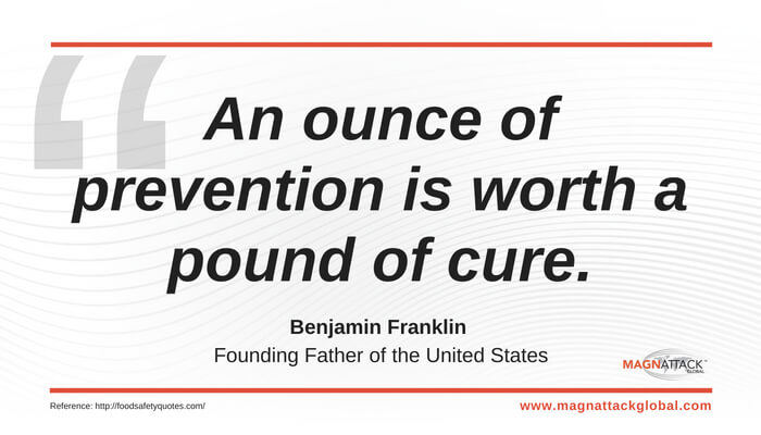 Qotw Prevention Is Worth More Than Cure Benjamin Franklin