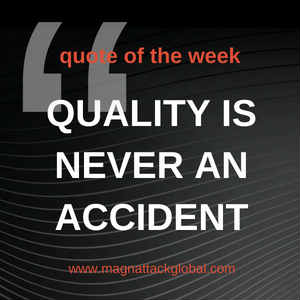 QOTW - Quality Is Never An Accident