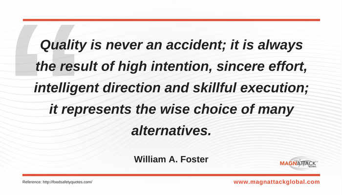 Qotw Quality Is Never An Accident Magnattack Global