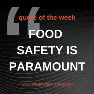 QOTW - Food Safety Is Paramount