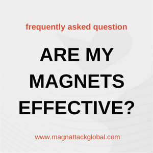 Are My Magnetic Separators Effective?