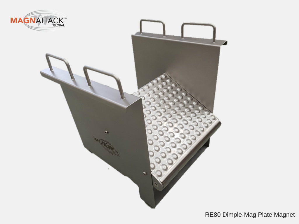Image of the Magnattack Dimple-Mag Plate Magnetic Separator