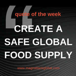 QOTW - Creating A Safe Global Food Supply