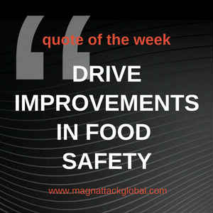 QOTW - Drive Improvements In Food Safety