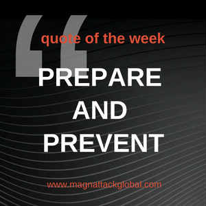QOTW - Prepare & Prevent, Don't Repair & Repent