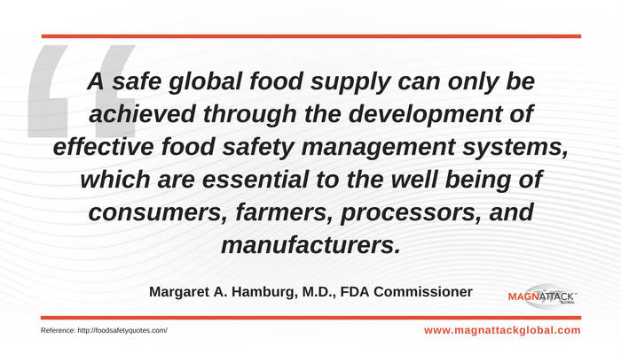 Quote of the Week - Creating A Safe Global Food Supply