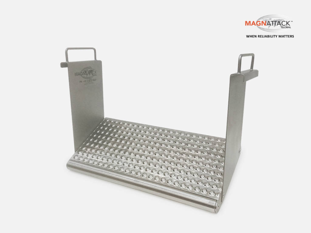 Magnattack RE80 Dimple-Mag Plate Magnet.